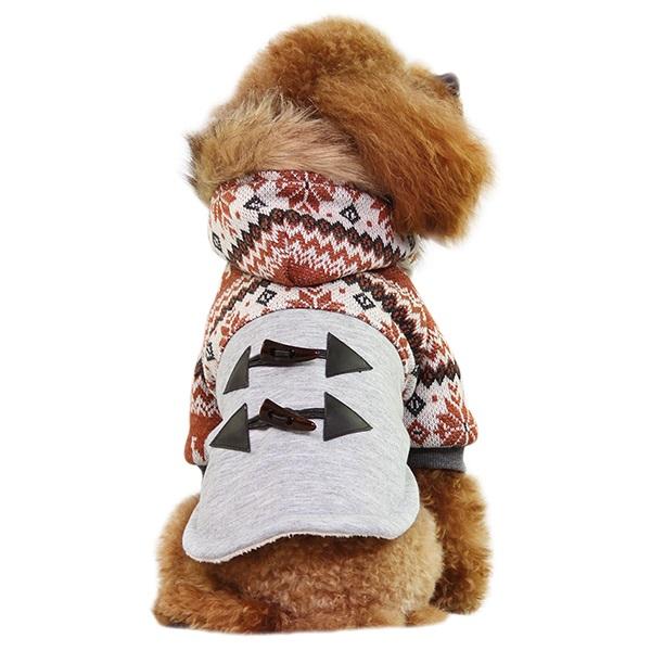 秋冬 DOBAZ ドバズ ドッグウェア パーカ 即出荷 XS~XL 2色 冬服 ブラウン ブルー 秋冬ドバズdobaz 防寒 ディスカウント パーカDA15038