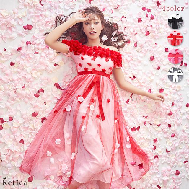 結婚式 ドレス ロングドレス ロング ロング丈 パーティー パーティードレス 大きいサイズ 衣装 ゆったり イベント ウェディング ピンク レッド ブラック ホワイト フォーマル ブライズメイド バースデー お揃いドレス シフォン