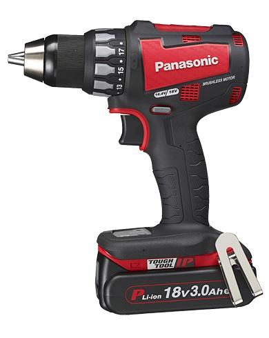 【パナソニック】 充電ドリルドライバーEZ74A2PN2G-R (赤) 18V 3.0Ah PN電池パック2個・充電器・ケース付【pansonic】