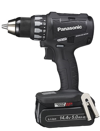【日本限定モデル】 【パナソニック】 (黒) Pro 店 5.0Ah 14.4V 充電ドリルドライバーEZ74A2LJ2F-B LJ電池パック2個・充電器・ケース付【pansonic】:Working-DIY・工具