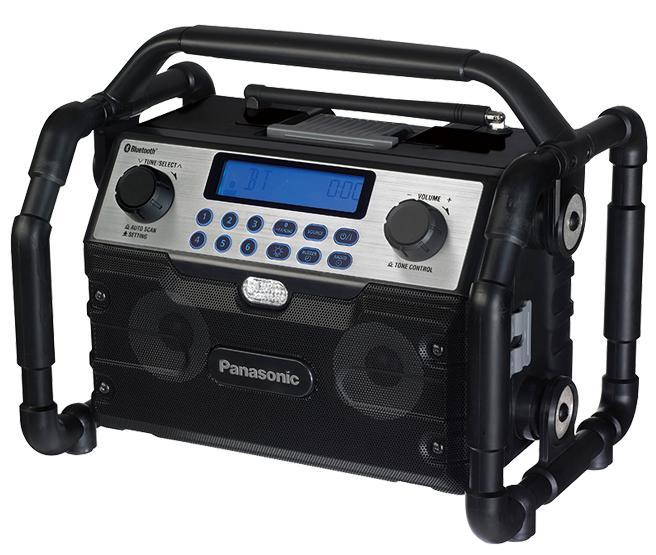 【パナソニック】 工事用充電ラジオ&ワイヤレススピーカー EZ37A2 本体のみ<電池パック・充電器は別売> 【Panasonic】