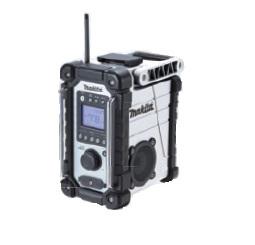 【マキタ】 充電式ラジオ MR107W(白) 本体のみ <バッテリ・充電器別売> 【makita】