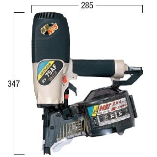 直営店に限定 【ハイコーキ】 (日立工機)東北・関東 75mm ロール釘打機 送料無料:Working 【HiKOKI】 店 Pro NV75AF-DIY・工具