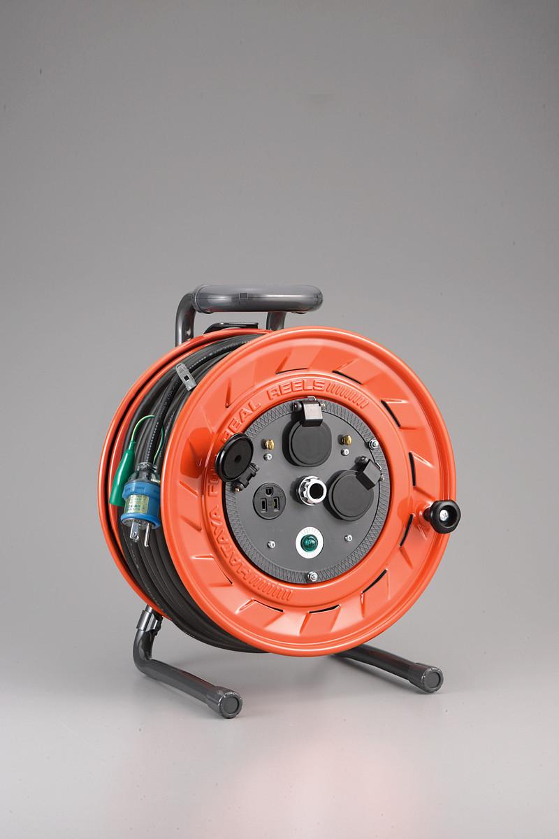 ハタヤ AP-501K 単相100V型コードリール 50m アース付 温度センサー付