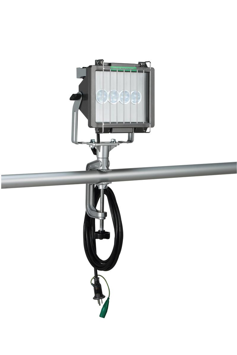 ハタヤ LET-310K 30WLED投光器 100V 10m 接地付 (屋外用)