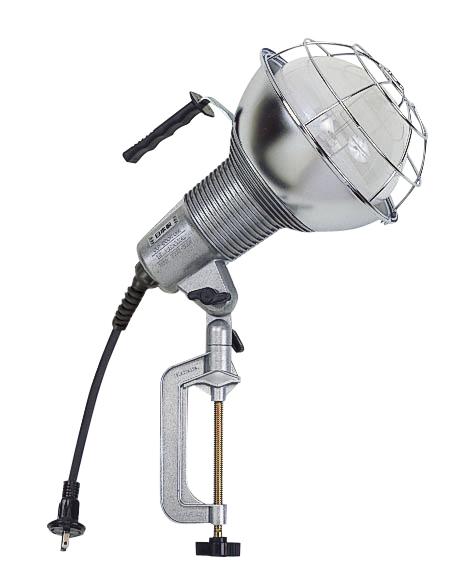 ハタヤ RGM-300 防雨型水銀作業灯 バラストレス水銀ランプ300W 100V電線0.3m