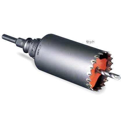 【ミヤナガ】 振動用コアドリル-Sコア(セット) PCSW180R [SDSプラスシャンク] 刃先径180mm 有効長130mm(カッター長160mm) 【MIYANAGA】