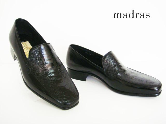 madras(マドラス)LM70/BLACK【送料無料】紳士ビジネスシューズ/カメ皮紳士靴