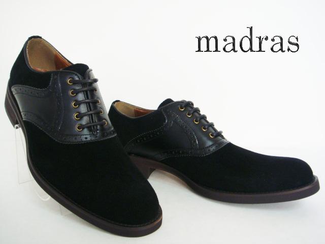 madras(マドラス)ブラック【送料無料】マドラスコンフォートシューズ/正規取扱店