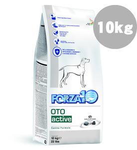 FORZA10 OTO オトアクティブ 耳管/外耳の健康維持食事療法食 中粒 10kg【99】