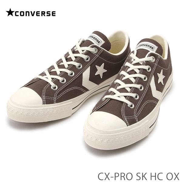アーカイブのCX PRO-250をスケート仕様にアップデート コンバース テレビで話題 シェブロンスターCONVERSE CX-PRO ブラウン1cl601 OX お歳暮 HC 34200161220 SK