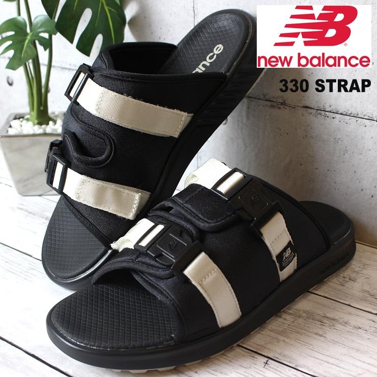 ニューバランス サンダル 330 STRAP BM BLACK MOON new 夏 balance STRAPスポーツサンダル カジュアル ストアー ストラップサンダル レジャー スポサン プレゼント