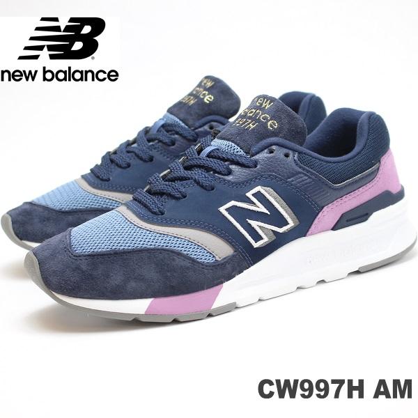 ニューバランス CW997H AM(NAVY/PURPLE)new balance CW997HAMスニーカー レディース