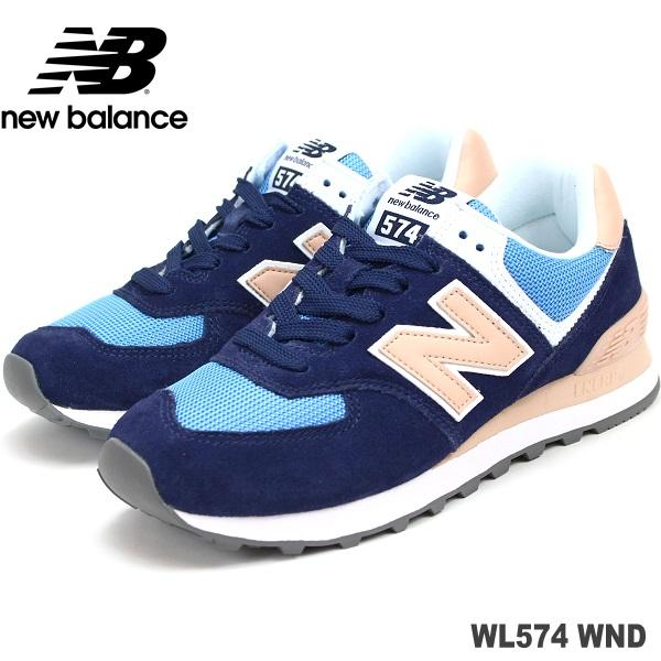ニューバランス WL574 WND PIGMENT/PINKnew balance WL574WNDスニーカー レディース