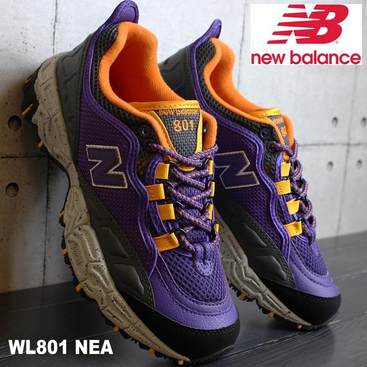ニューバランス WL801 NEA PURPLE/GRAYnew balance WL801NEAスニーカー レディース アウトドア トレイル ダッド系