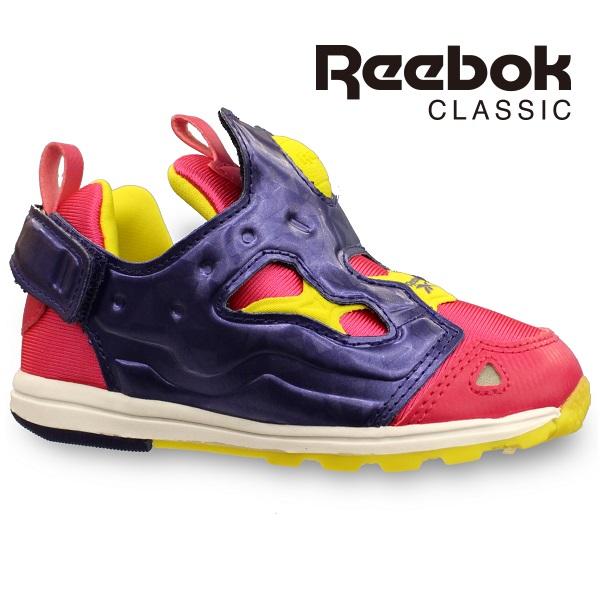 myfootn: Reebok kids sneakers Reebok classic VERSA PUMP FURY