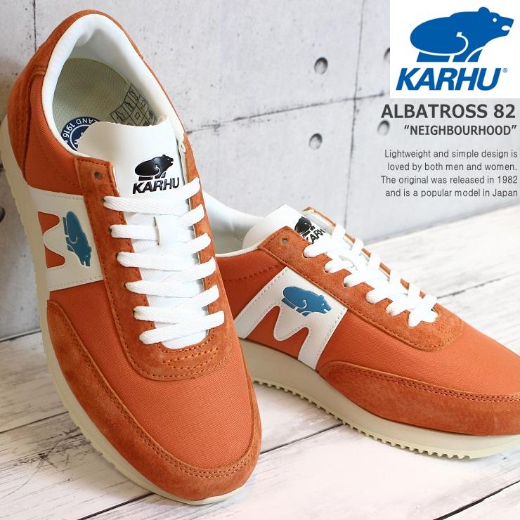 カルフ スニーカー アルバトロスKARHU ALBATROSS KH807001 Orange/White