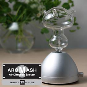 香气她可爱扩压器的蘑菇