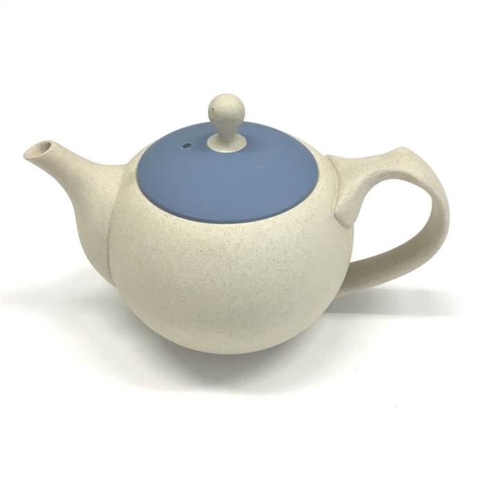 きゅうす ティーポット おしゃれ ギフト プレゼント 日本製 深蒸し茶 お茶 焼き物 陶器 陶製とこなめやき 和食器 ブルー マーケティング 茶器 セラメッシュ 陶磁器 訳あり品送料無料 在庫あるだけ美味しいお茶を淹れるならこれ常滑焼急須 食器 人水丸ポット