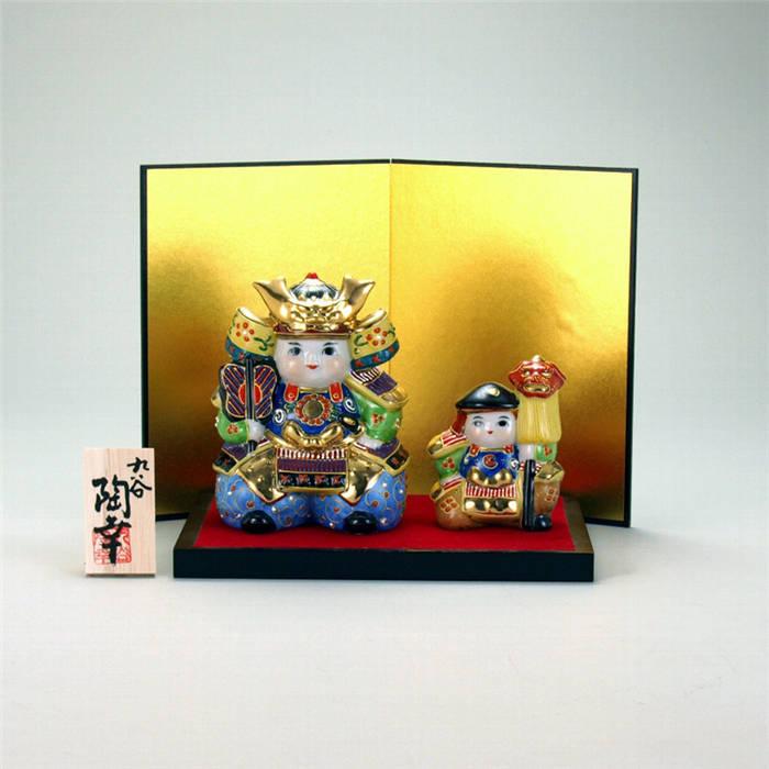 磁器製 五月人形 5月人形 完全送料無料 端午の節句 子供の日 置物 日本製 陶磁器 人気 九谷焼 3号武者人形揃 和雑貨 飾り 盛 おしゃれ 格安激安 かわいい