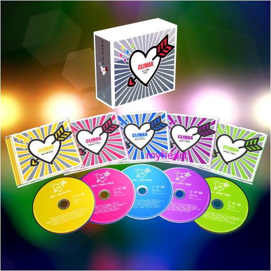 【宅配便配送】クライマックス・オールタイム・ベスト CD-BOX(CD)