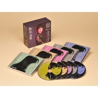 【宅配便配送】艶・怨・演歌-藤圭子 CD-BOX(CD5枚組)(CD)【t】