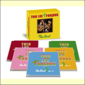 【宅配便配送】Trio Los Panchos/トリオ・ロス・パンチョス ザ・ベストCD-BOX(CD)