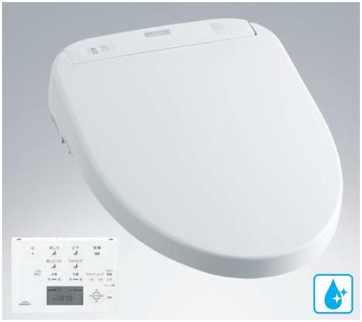 TOTO ウォシュレットアプリコット F2A オート便器洗浄付タイプ エロンゲートサイズ(大形)・レギュラーサイズ(普通)兼用 TCF4721AM