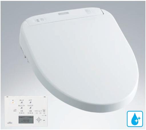 TOTO ウォシュレットアプリコット F1A オート便器洗浄付タイプ エロンゲートサイズ(大形)・レギュラーサイズ(普通)兼用 TCF4711AF