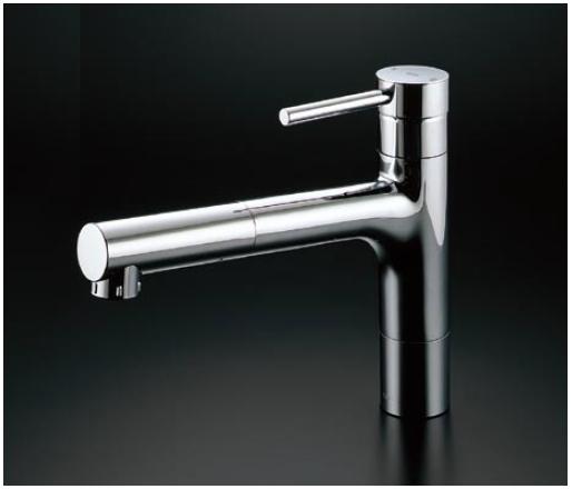 TOTO コンテンポラリシリーズ エコシングル水栓 シングルレバー混合栓(ハンドシャワータイプ) 寒冷地用 TKC32CEZ