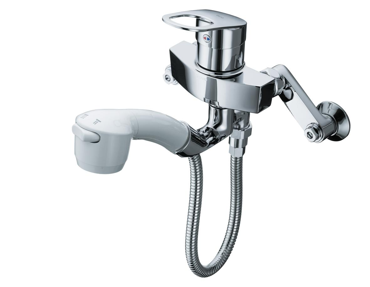 TOTO GGシリーズ エコシングル水栓 シングルレバー混合栓(ハンドシャワータイプ) 寒冷地用 TKGG36EZ