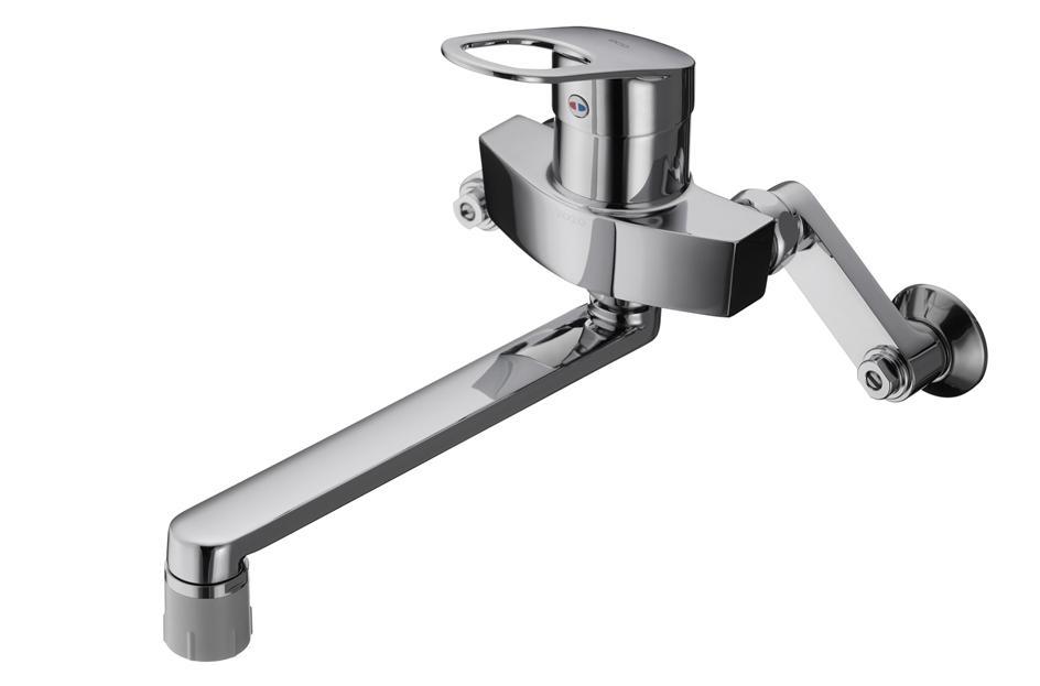 TOTO GGシリーズ エコシングル水栓 シングルレバー混合栓(吐水切り替えタイプ) TKGG30EC