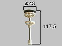 サンウェーブ(LIXIL) マンション向け洗面化粧台ポップアップ排水栓 マルイチ6345【CP】 (6345)