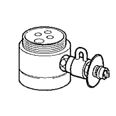パナソニック(Panasonic) 分岐水栓(TOTO用) CB-SL6