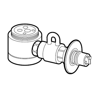 パナソニック(Panasonic) 分岐水栓(TOTO用) CB-SSG6