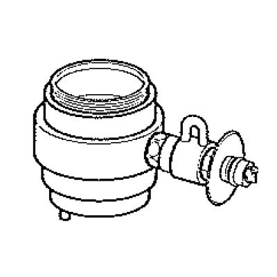 パナソニック(Panasonic) 分岐水栓(INAX用) CB-SXB6