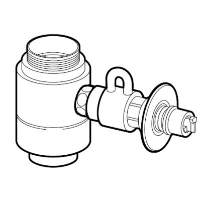パナソニック(Panasonic) 分岐水栓(INAX用) CB-SXG7