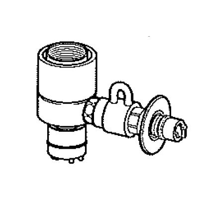 パナソニック(Panasonic) 分岐水栓(INAX用) CB-SXJ6