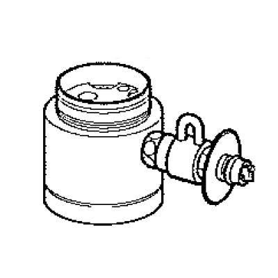 パナソニック(Panasonic) 分岐水栓(KVK用) CB-SKB6