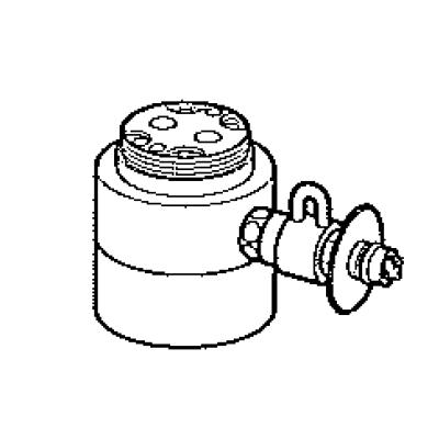 パナソニック(Panasonic) 分岐水栓(KVK用) CB-SKE6