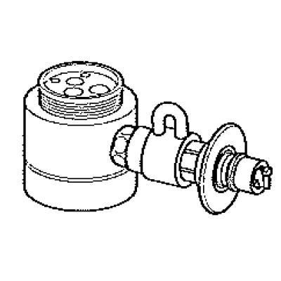 パナソニック(Panasonic) 分岐水栓(KVK用) CB-SKF6