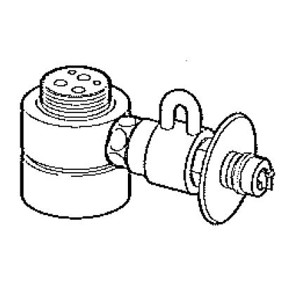 パナソニック(Panasonic) 分岐水栓(MYM用) CB-SMD6