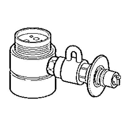パナソニック(Panasonic) 分岐水栓(MYM用) CB-SMF6