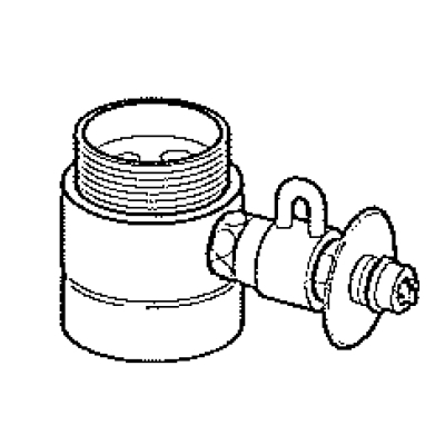 パナソニック(Panasonic) 分岐水栓〔ヤンマー(YANMAR)用〕 CB-SYC6