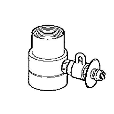 パナソニック(Panasonic) 分岐水栓〔モーエン(MOEN)用〕 CB-SMJA6