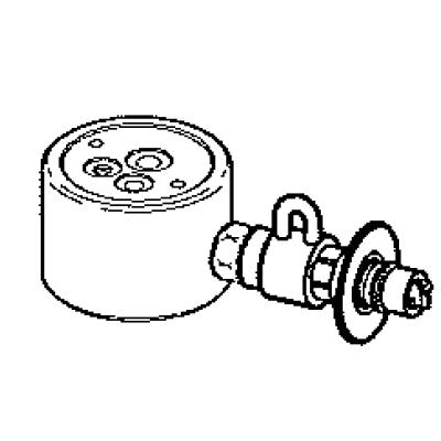 パナソニック(Panasonic) 分岐水栓〔グローエ(GROHE)用〕 CB-SGB6