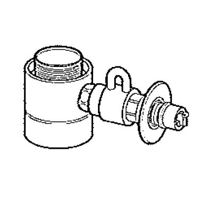 パナソニック(Panasonic) 分岐水栓(タカギ用) CB-STKA6