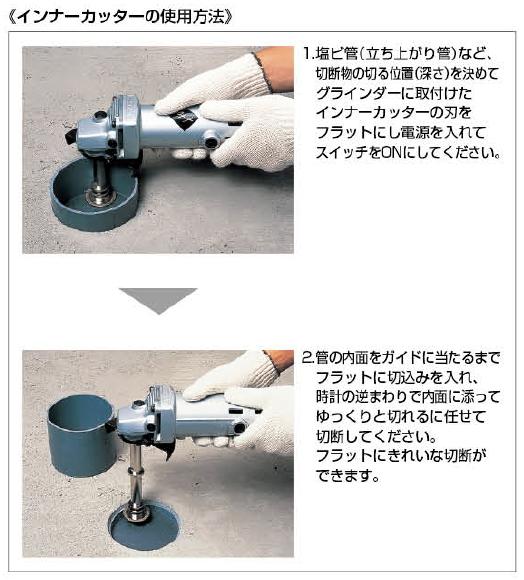 六角軸インナーカッター 6079 KAKUDAI カクダイ