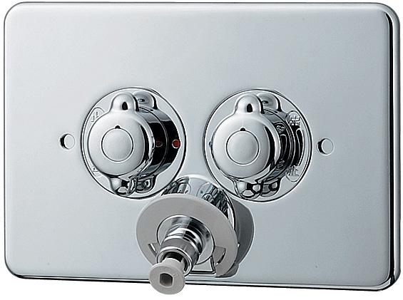 カクダイ(KAKUDAI) 洗濯機用混合栓(天井配管対応) 127-103