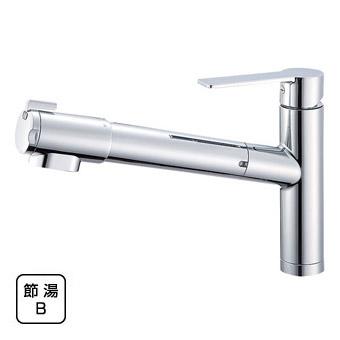 三栄水栓(SAN-EI) column シングル浄水器付ワンホールスプレー混合栓 K87580JV